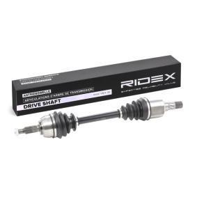 RIDEX 13D0212 Antriebswelle OEM - 8200198016 OM, RENAULT, SKF, RENAULT TRUCKS, VAICO, STARK, RIDEX günstig