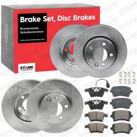4F0698451C für VW, AUDI, SKODA, SEAT, Bremsensatz, Scheibenbremse STARK (SKBK-1090346) Online-Shop