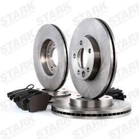 STARK SKBK-1090346 Bremsensatz, Scheibenbremse OEM - 4F0698451C AUDI, SEAT, SKODA, VW, VAG günstig