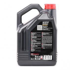 ISUZU D-MAX MOTUL Auto Öl, Art. Nr.: 100295