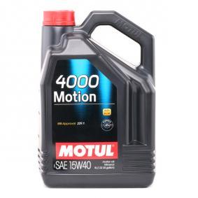Motorolajok ACEA B3 100295 a MOTUL eredeti minőségű