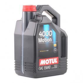 Motorolaj ACEA B3 MOTUL (100295) alacsony áron