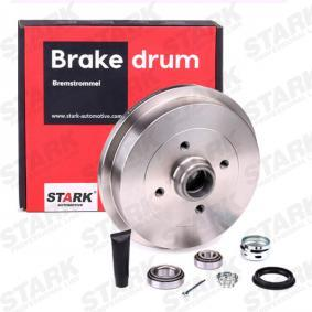 Bremstrommel STARK Art.No - SKBDM-0800151 OEM: 1H0501615A für VW, AUDI, FORD, SKODA, SEAT kaufen