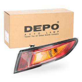 CIVIC VIII Hatchback (FN, FK) ABAKUS Tail lights 217-1979R-UE