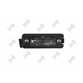 Светлини на регистрационния номер ABAKUS (053-10-905) за VW GOLF Цени