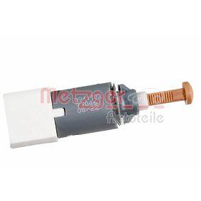 METZGER Bremspedalschalter 0911102