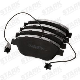 STARK SKBP-0011652 Bremsbelagsatz, Scheibenbremse OEM - 77365468 ALFA ROMEO, FIAT, LANCIA, PEUGEOT, ALFAROME/FIAT/LANCI, BREMBO, A.B.S., OEMparts, ABARTH, STARK günstig