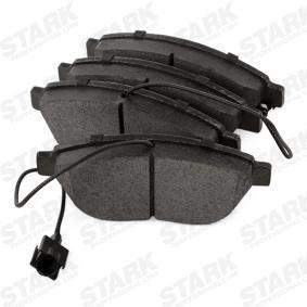 STARK Bremsbelagsatz, Scheibenbremse (SKBP-0011652) niedriger Preis