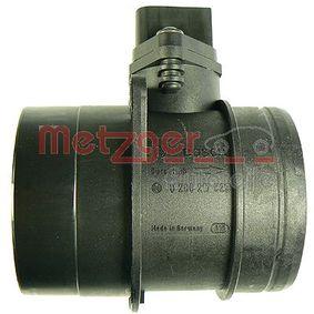 METZGER Luftmassenmesser/Luftmengenmesser 0890271 für AUDI A4 1.9 TDI 130 PS kaufen