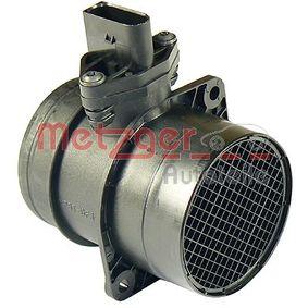 AUDI A4 1.9 TDI 130 PS ab Baujahr 11.2000 - Luftmassenmesser/Luftmengenmesser (0890271) METZGER Shop