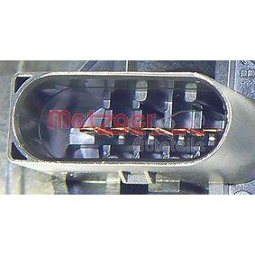 AUDI A4 (8E2, B6) METZGER Luftmassenmesser/Luftmengenmesser 0890271 bestellen