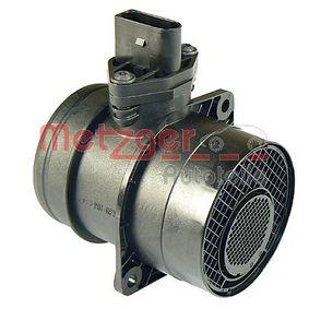 AUDI A4 1.9 TDI 130 PS ab Baujahr 11.2000 - Luftmassenmesser/Luftmengenmesser (0891072) METZGER Shop