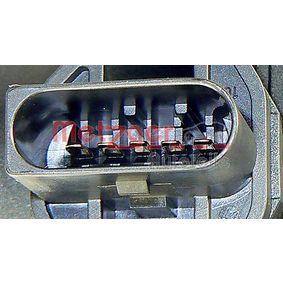 AUDI A4 (8E2, B6) METZGER Luftmassenmesser 0891072 bestellen
