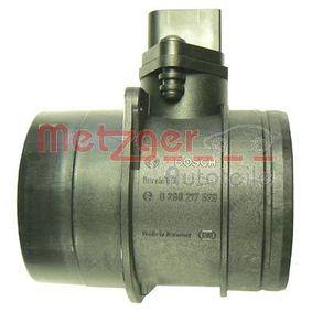 METZGER Luftmassenmesser 0891078 für AUDI A4 1.9 TDI 130 PS kaufen
