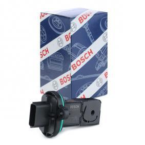 BOSCH Air Mass Sensor Manual Transmission for vehicles with start-stop function 0 280 218 419 original quality