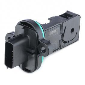 BOSCH Air Mass Sensor Manual Transmission for vehicles with start-stop function 4047026123487 rating