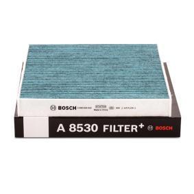 BOSCH 0 986 628 530 Filter, Innenraumluft OEM - 5Q0819653 AUDI, MAN, SEAT, SKODA, VW, VAG, FIAT / LANCIA, JOHNS, AUDI (FAW), SKODA (SVW), CUPRA, STARK, RIDEX günstig