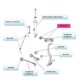 4782665AB voor FIAT, ALFA ROMEO, CHRYSLER, JEEP, DODGE, Afschermhuls, draagarmrubber TEDGUM (00131303) Webwinkel