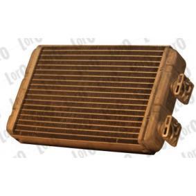 Wärmetauscher, Innenraumheizung ABAKUS Art.No - 004-015-0015-B OEM: 64118372771 für BMW, VOLVO, ALPINA kaufen