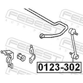 Tirante barra estabilizadora 0123-302 FEBEST