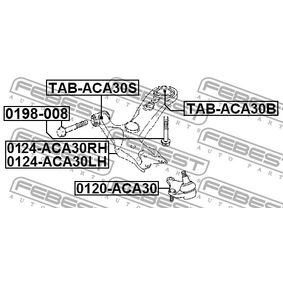 Barra oscilante 0124-ACA30LH FEBEST