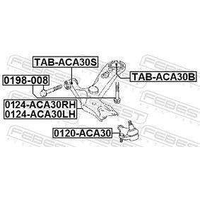 Barra oscilante 0124-ACA30RH FEBEST