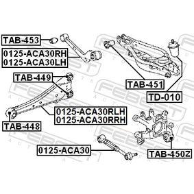 Barra oscilante 0125-ACA30LH FEBEST