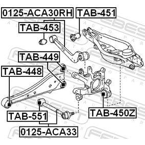 Barra oscilante 0125-ACA33 FEBEST
