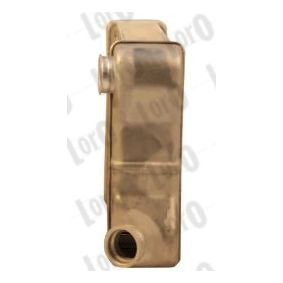 PUNTO (188) ABAKUS Heat exchanger 016-015-0010-B