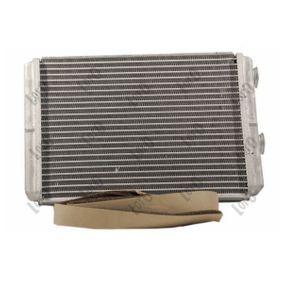 PUNTO (188) ABAKUS Heat exchanger 016-015-0011-B
