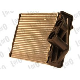 Heat exchanger interior heating 016-015-0013 ABAKUS