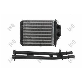 Heat exchanger interior heating 016-015-0013-A ABAKUS