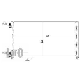 Air conditioner condenser 016-016-0008 ABAKUS