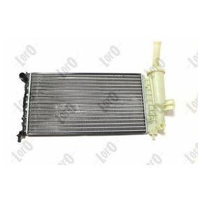 PUNTO (188) ABAKUS Radiator engine cooling 016-017-0022