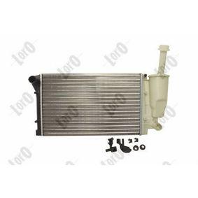PANDA (169) ABAKUS Radiator engine cooling 016-017-0023