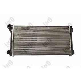 PUNTO (188) ABAKUS Radiator engine cooling 016-017-0025
