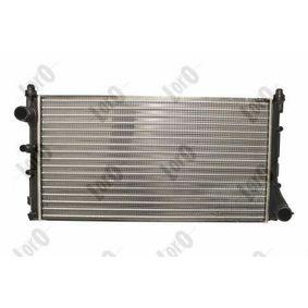 PANDA (169) ABAKUS Radiator engine cooling 016-017-0034