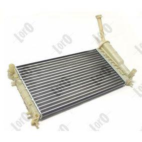 ABAKUS Radiator engine cooling 016-017-0036