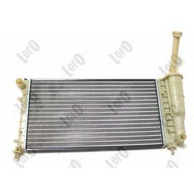 PUNTO (188) ABAKUS Radiator engine cooling 016-017-0036