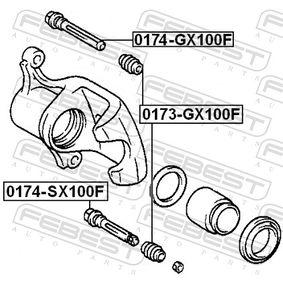 Brake caliper repair kit 0174-SX100F FEBEST