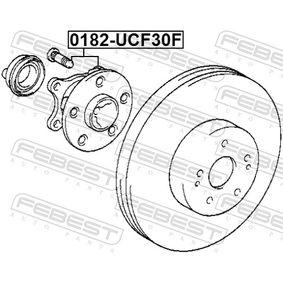 Piasta koła 0182-UCF30F FEBEST
