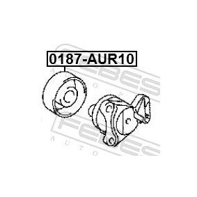 Tensioner pulley, v-ribbed belt 0187-AUR10 FEBEST