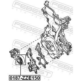 Napinaci kladka, zebrovany klinovy remen 0187-ZZE150 FEBEST