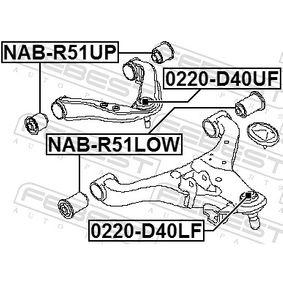 Rotule de suspension pour NISSAN Navara Pick-up (D40) 2.5