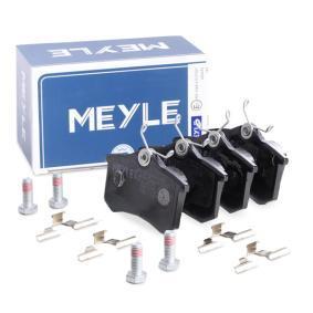 5C0698451 für VW, AUDI, SKODA, SEAT, BENTLEY, Bremsbelagsatz, Scheibenbremse MEYLE (025 209 6117/PD) Online-Shop