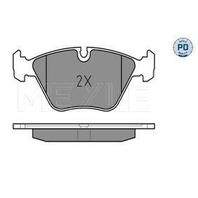 MEYLE Bremsbelagsatz, Scheibenbremse 34111163953 für BMW bestellen
