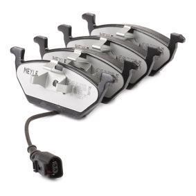 MEYLE Bremsbelagsatz, Scheibenbremse 1K0698151J für VW, AUDI, SKODA, SEAT bestellen
