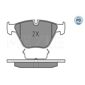 MEYLE Bremsbelagsatz, Scheibenbremse 34116794916 für BMW bestellen