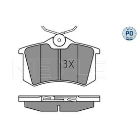 MEYLE Bremsbelagsatz, Scheibenbremse 1343513 für VW, FORD, SEAT, RENAULT TRUCKS, SATURN bestellen