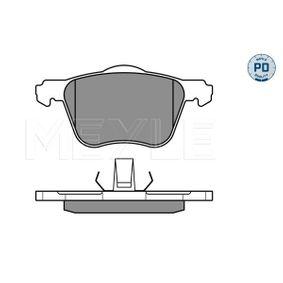 Bremsbelagsatz, Scheibenbremse MEYLE Art.No - 025 235 9018/PD OEM: 30769122 für VOLVO, SATURN kaufen